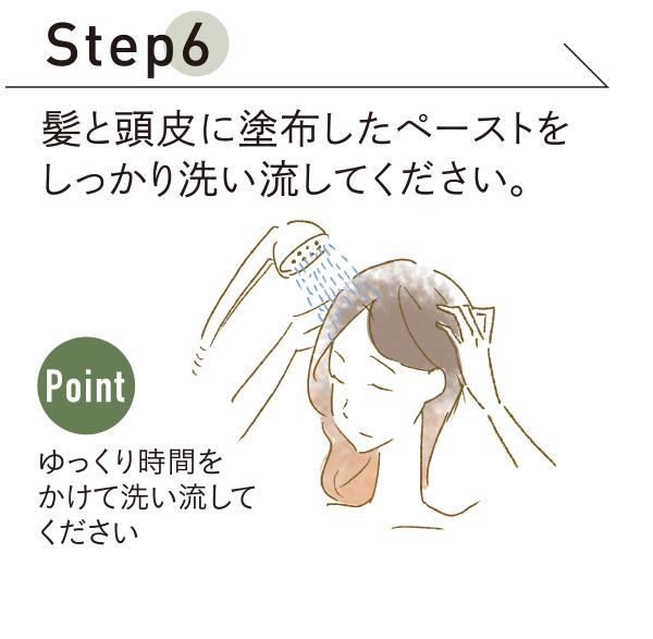 使い方 Step6